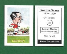 Manchester United Tommy Manley 25 (FC)